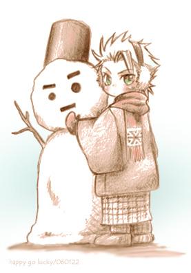 BLEACH画像〜日番谷&雪だるま